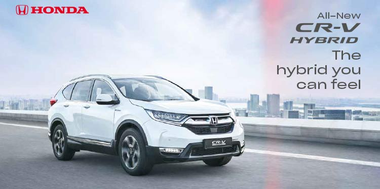 The All-New Honda CR-V HYBRID is here!
