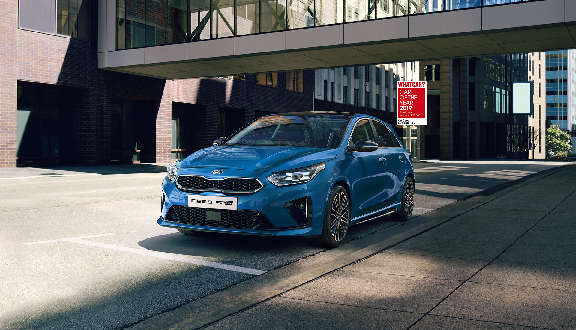 KIA CEED WINS CAR OF THE YEAR AT THE INTELLIGENT INSTRUCTOR AWARDS 2019