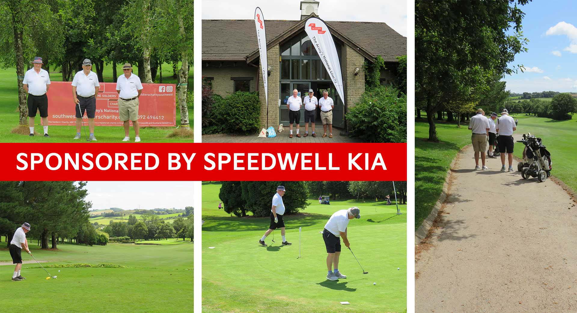 Speedwell Kia sponsoring the ABF - The Army's National Charity