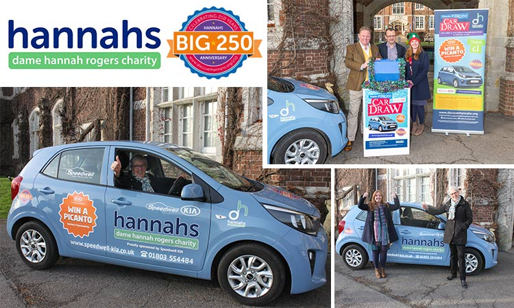 PLYMOUTH RESIDENT WINS HANNAHS CAR DRAW